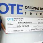 OTE Donates to Onondaga Longhouse